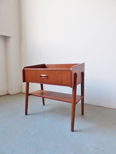 1960s Danish bedside table