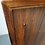 Mid-century rosewood sideboard credenza detail