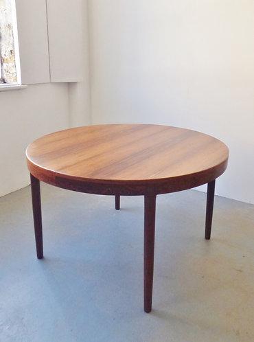 Rosewood dining table by Harry Østergaard for Randers Møbelfabrik