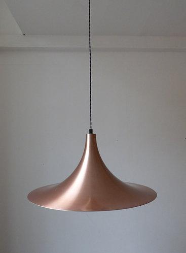 Vintage Danish copper pendant light