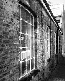 Vintage furniture shop exterior Hackney