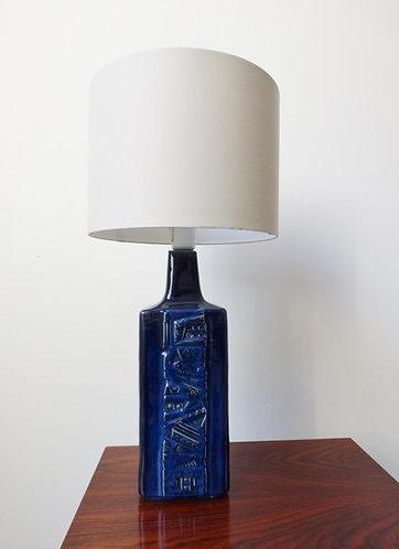 1970s Danish ceramic table lamp