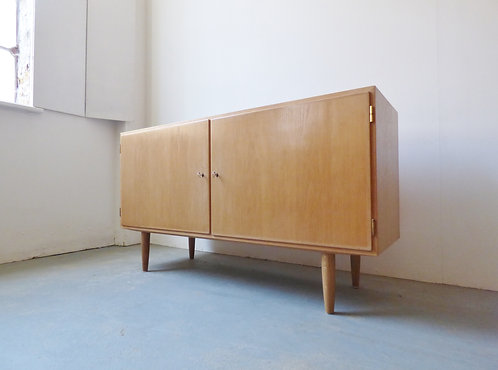 1960s Danish oak sideboard by Carlo Jensen for Hundevad