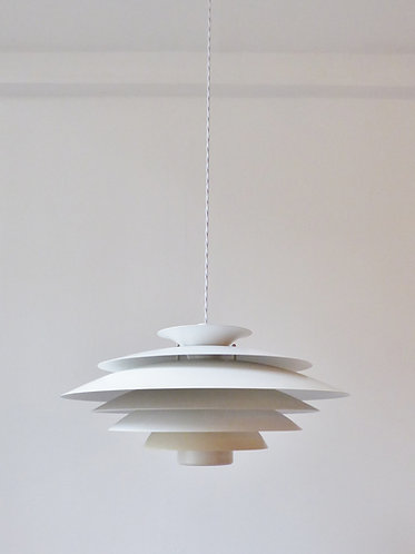 Large Danish tiered pendant light