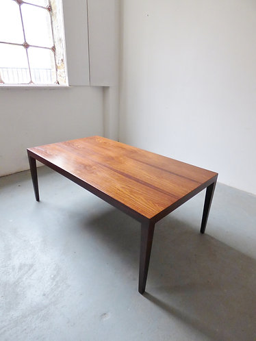 Rosewood coffee table by Severin Hansen for Haslev