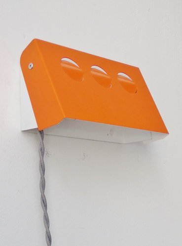 1970s Danish wall mounted bedside lamp
