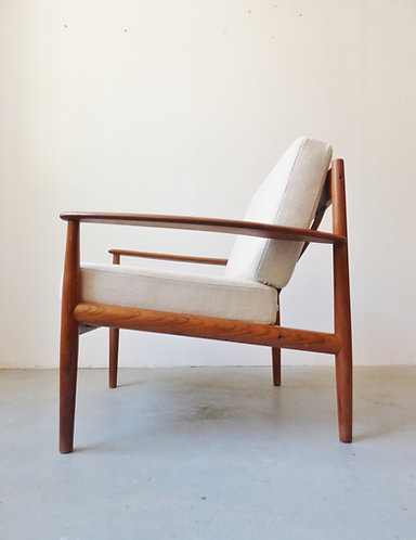 1960s teak lounge chair #118 by Grete Jalk