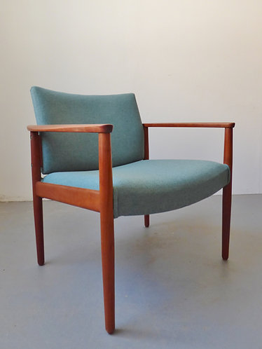 Mid-century Danish lounge chairs