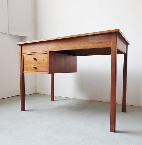 Small Danish mid-century teak desk