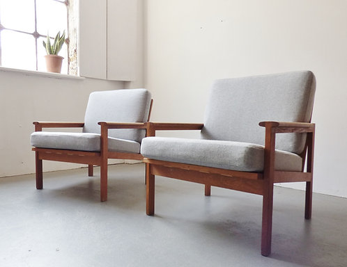 Capella chair by Illum Wikkelsø for Niels Eilersen