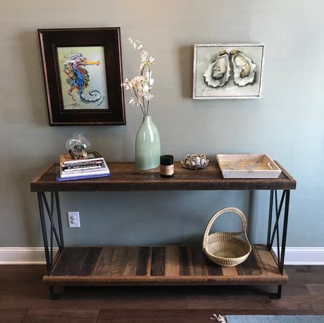 Barnwood Hallway Table