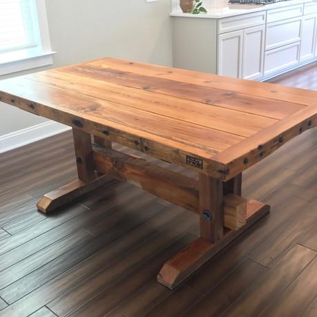 Dovesville Depot Farmwood Table