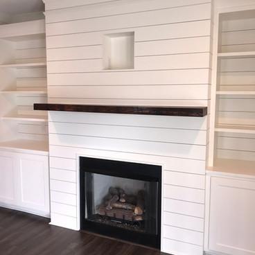 Dovesville Depot Fireplace Mantel