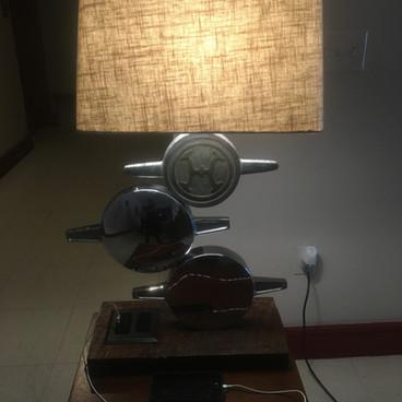 Fire Engine Steamer Cap Lamp