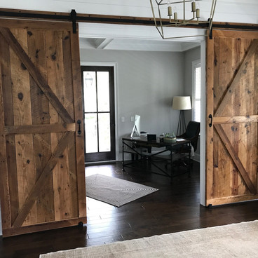Sliding Tobacco Barn Doors