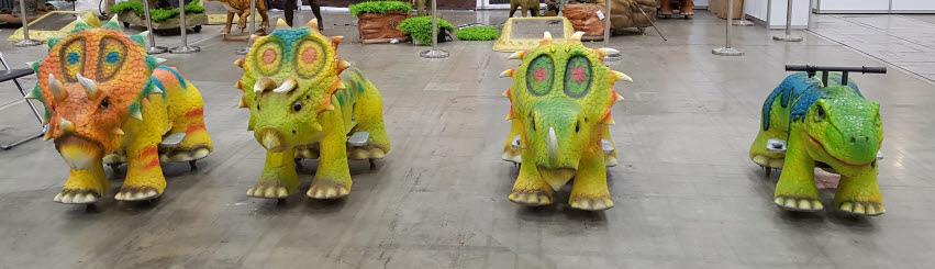 라이딩 공룡