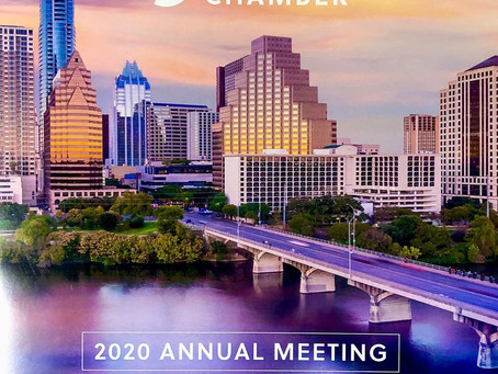 Austin Chamber of Commerce 2020 Annual Meeting