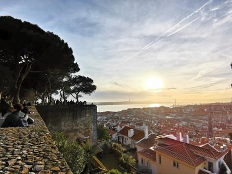 Visita ao Castelo de São Jorge em Lisboa