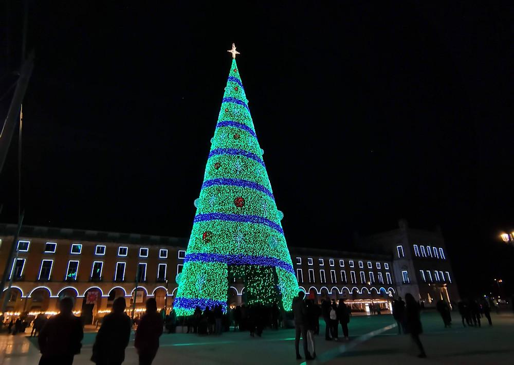Praça do Comércio - Natal 2019, Lisboa