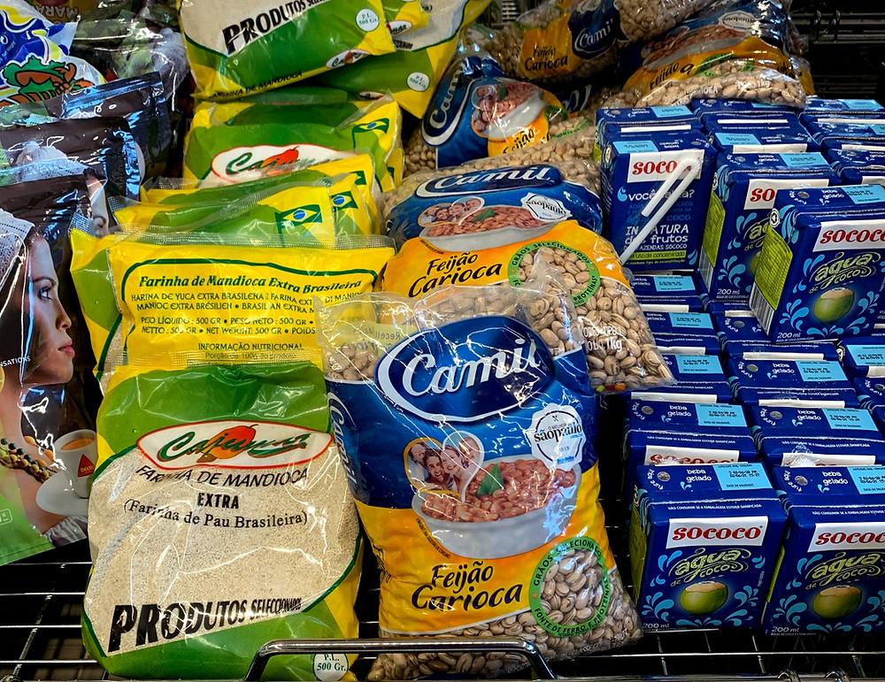 Produtos do Brasil à venda em Portugal