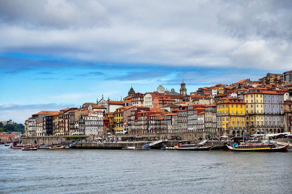 Cais da Ribeira - Porto, Portugal