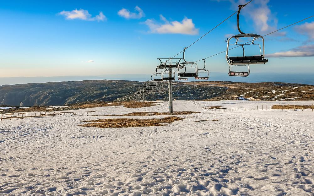 Estação de Esqui da Serra da Estrela - Portugal