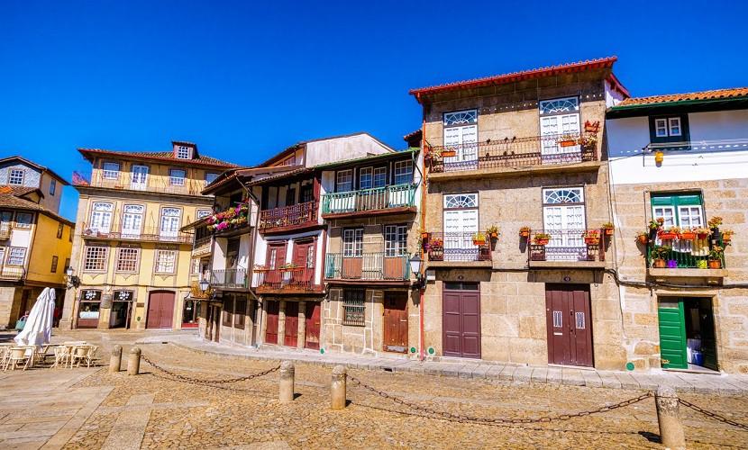 Guimarães, no Norte de Portugal.