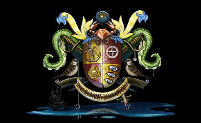 Jack Sparrow coat of arms - Disney