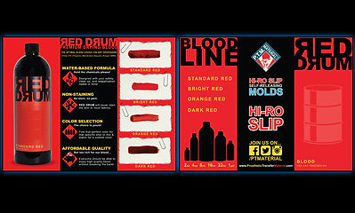 Red Drum trifold leaflet