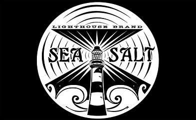 Lighthouse Brand Sea Salt logo