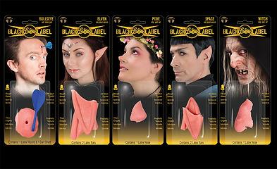 Tinsley Black Label latex prosthetics