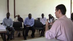 Curso em Uganda