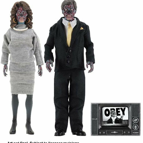 "They Live 8"" Clothed Figure"