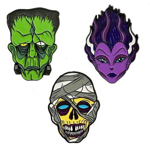 Graves Monster Pin Set 1