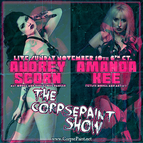 Episode 43 - November 10th Audrey Scorn