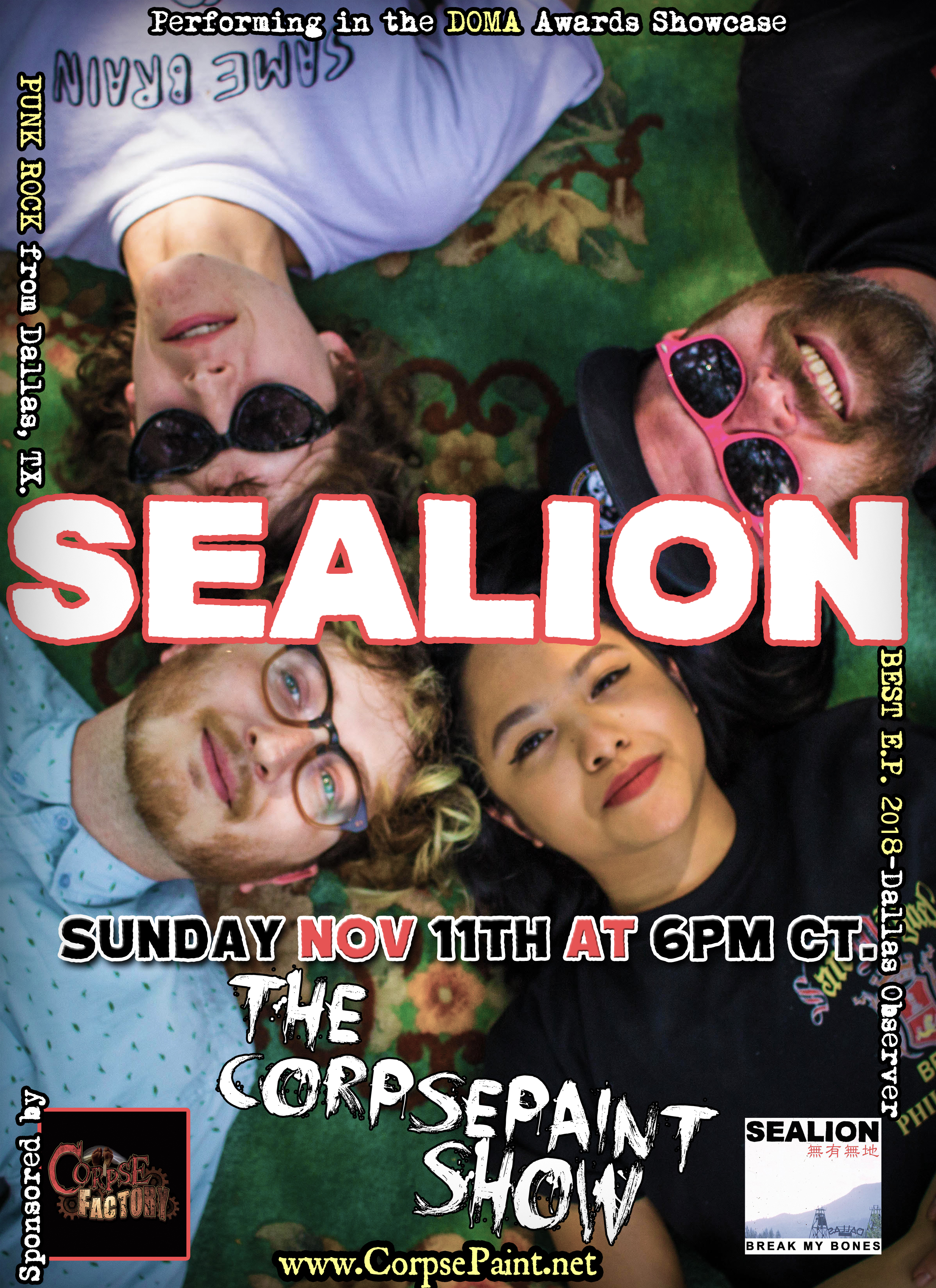 Nov 11th - Sealion