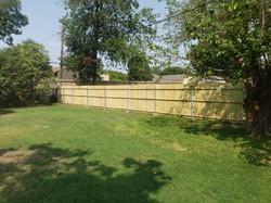 Fence Job in North Richland Hills
