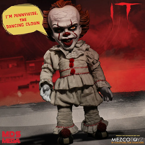 It (2017) Mega Scale Talking Pennywise