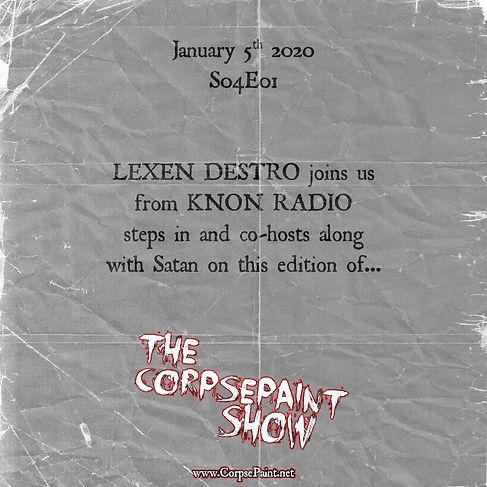 S04E01 - Jan 5th - Lexen Destro of KNON.