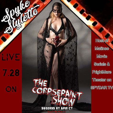 Episode 25-July 28th 2019 Spyke Styletto