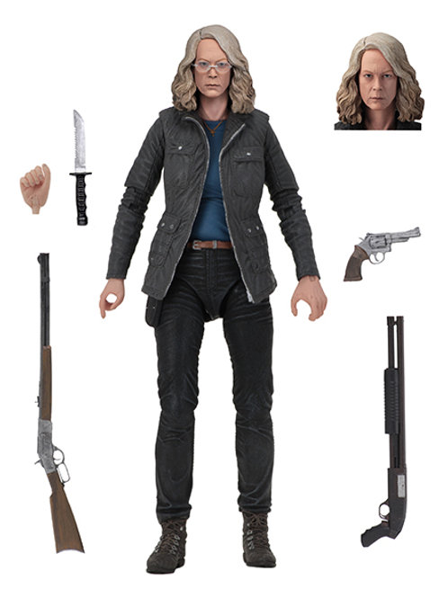 """Halloween (2018) 7"""" Action Fig- Ultimate Laurie"""