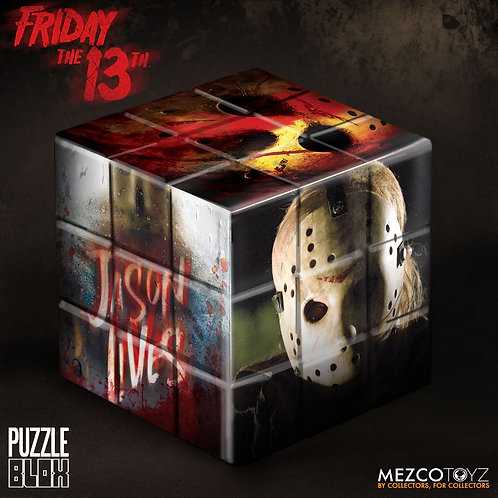 MEZCO FRIDAY THE 13TH JASON VOORHEES PUZZLE BLOX