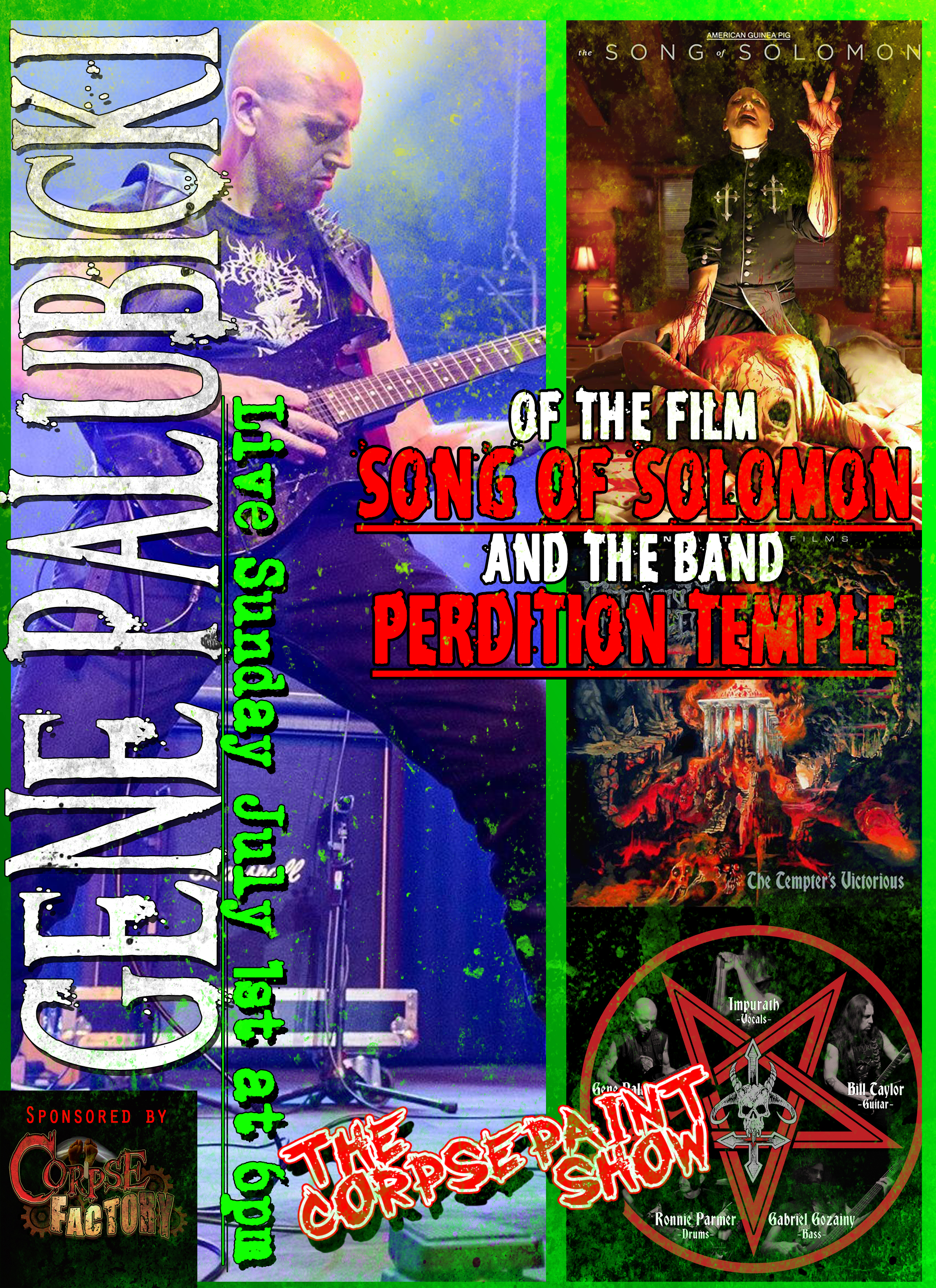 July 1st Gene Palubicki