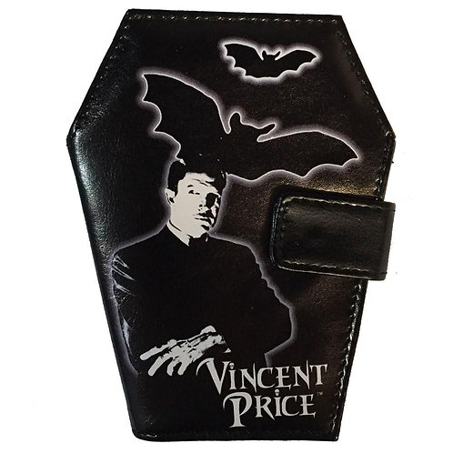 Vincent Price Coffin Wallet
