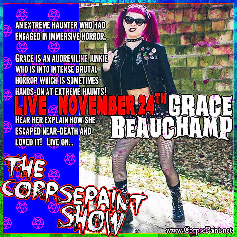 Episode 44 - November 14th Grace Beaucha
