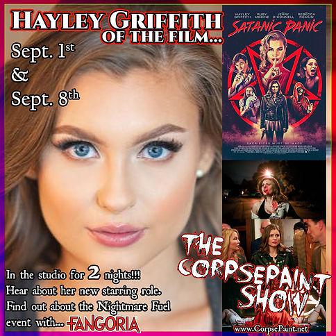 Episode 33 - September 11th 2019 Hayley
