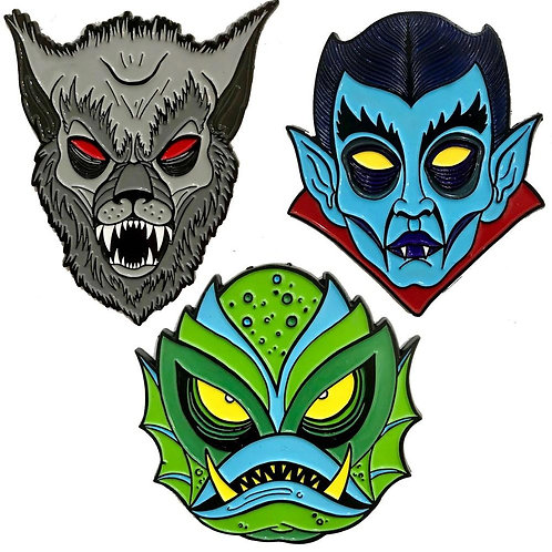 Graves Monster Pin Set 2