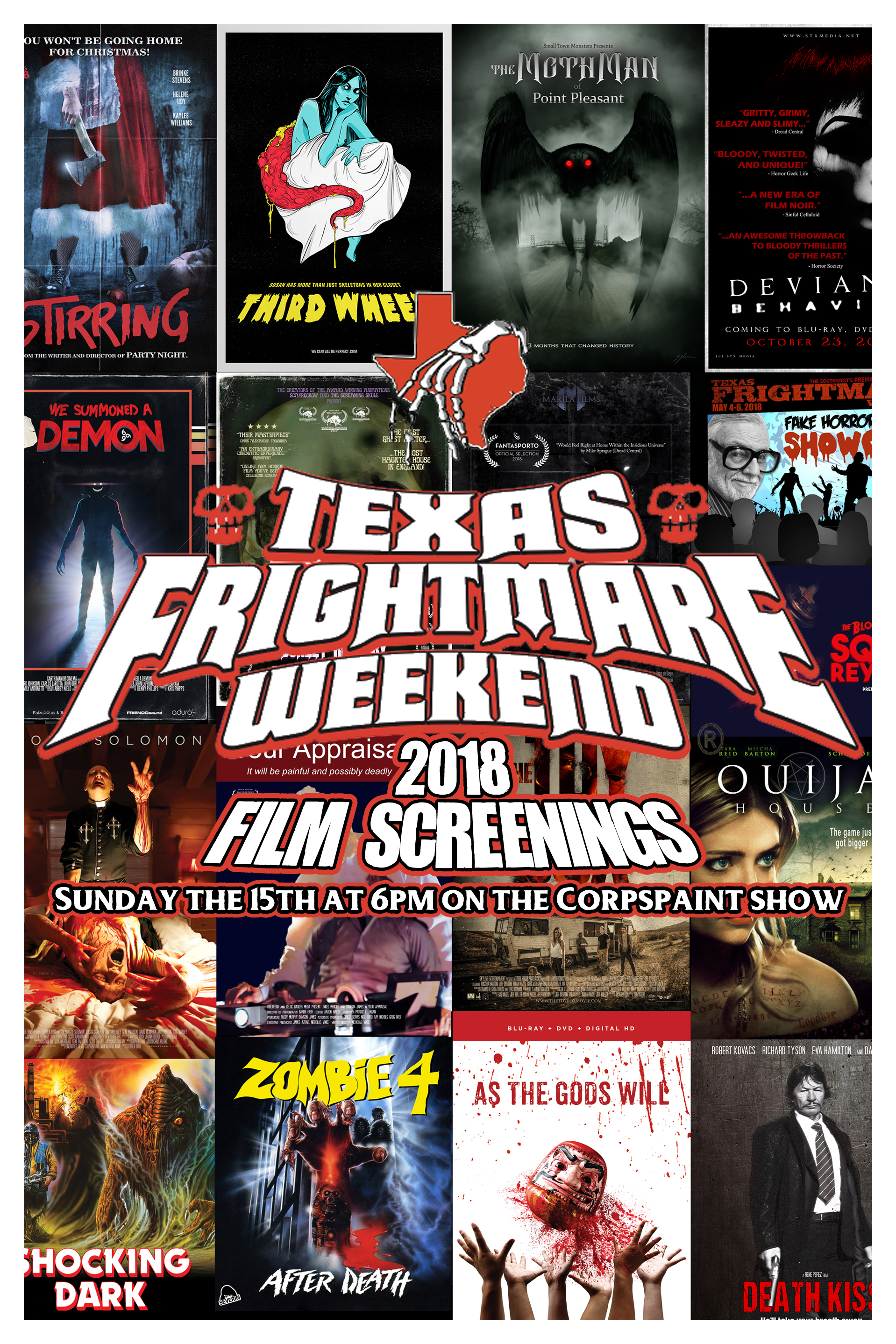 April 15th - Frightmare FLyer review