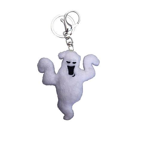 Boo Ghost Plush Key Chain