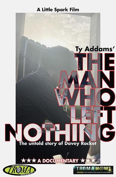 The Man Who Left Nothing - Key Art Movie